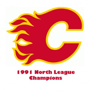 Flames 1991 NL champs NEW