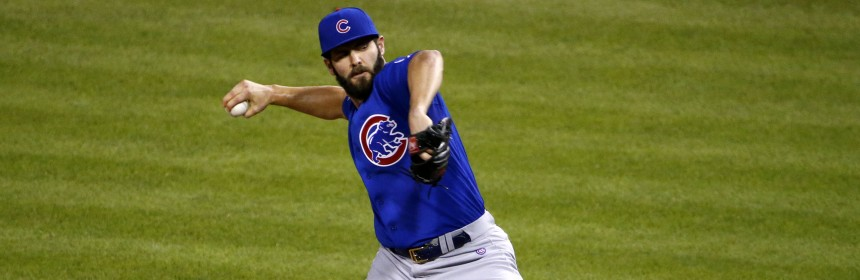 Chicago Cubs starting pitcher Jake Arrieta delivers in the second inning of a baseball game against the Pittsburgh Pirates in Pittsburgh, Wednesday, Sept. 16, 2015. (AP Photo/Gene J. Puskar)